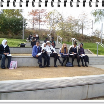 Year 8 Art Olympic Park Trip 1