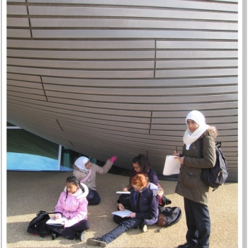 Year 8 Art Olympic Park Trip 11