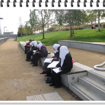 Year 8 Art Olympic Park Trip 3