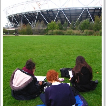 Year 8 Art Olympic Park Trip 8